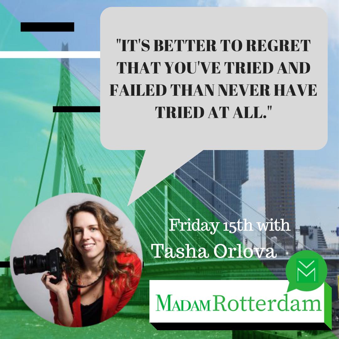 MR 2: Tasha Orlova on Leaving Her Corporate Job to Pursue her Dream Job