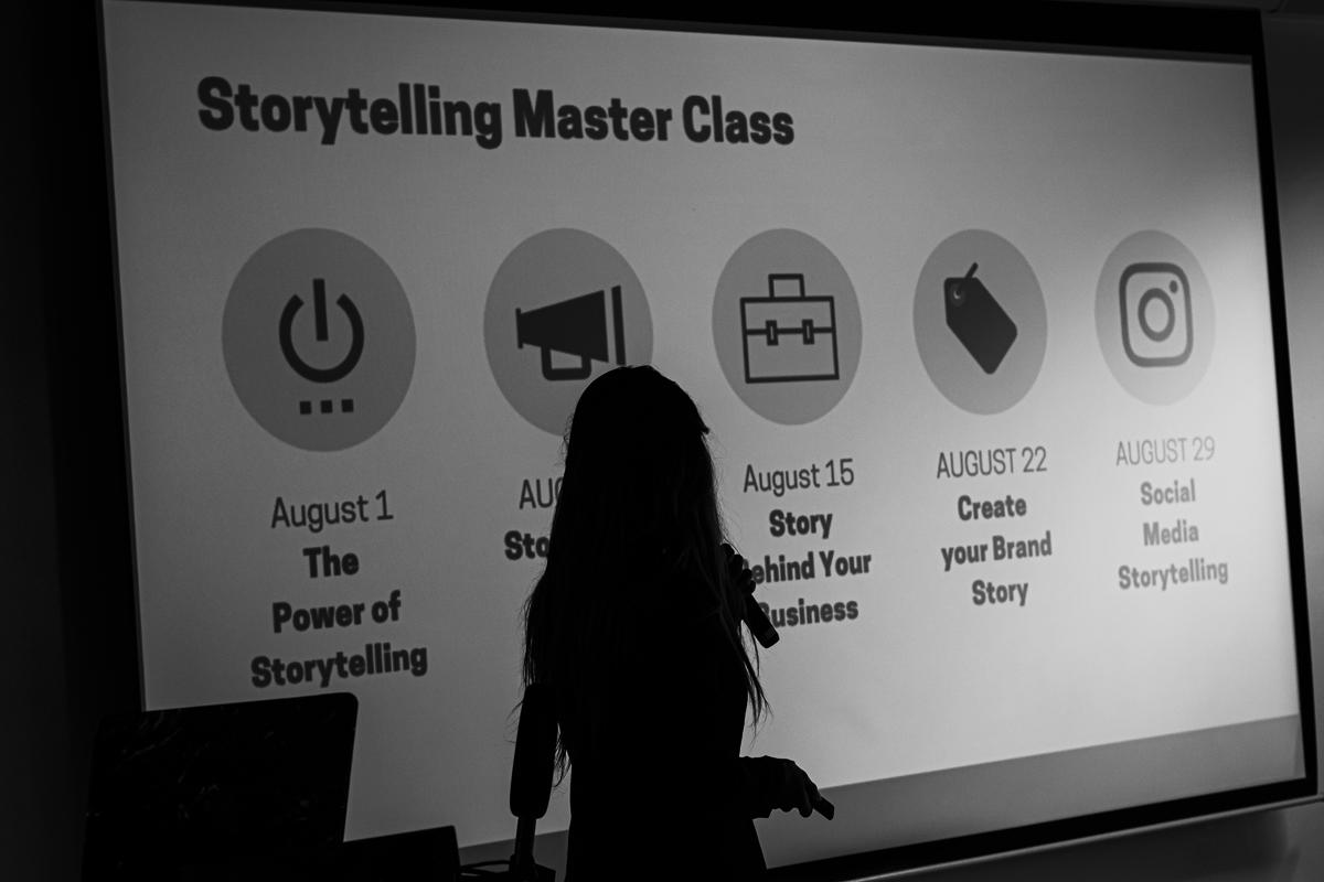 The Storytelling Master Class – Social Media Storytelling