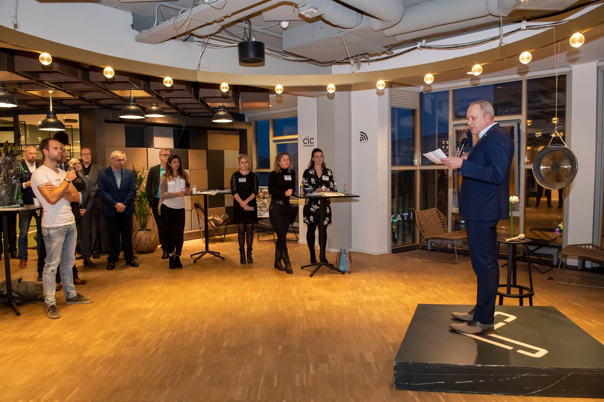 ISWA Headoffice Opened in Rotterdam