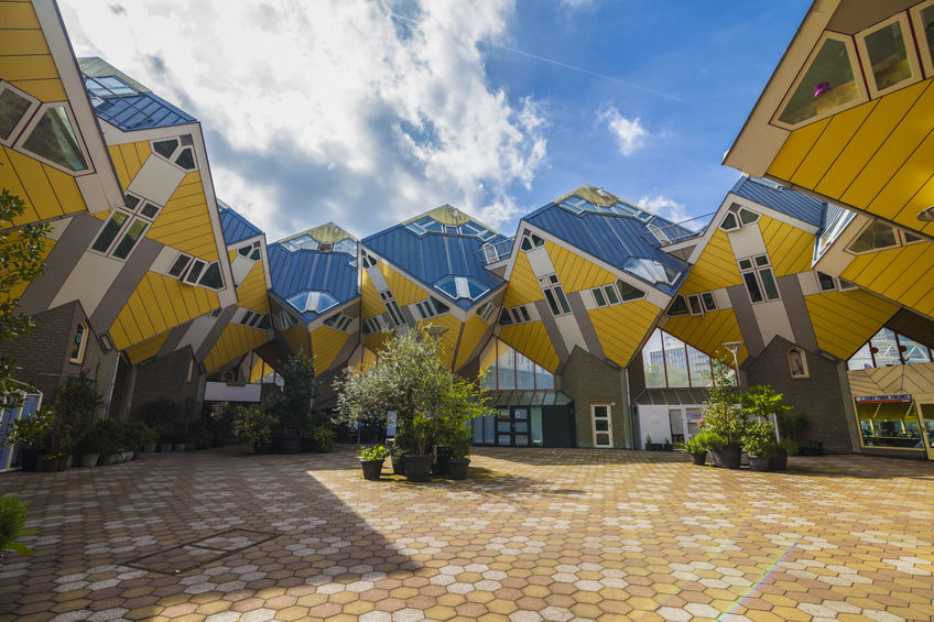 Cube Houses Rotterdam Jewellery Collection